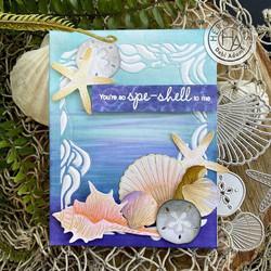 Hero Arts stanssisetti Seashells