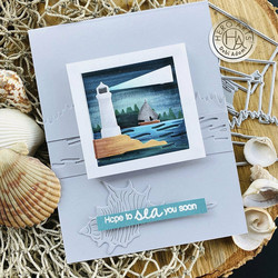Hero Arts stanssisetti Looking Glass Lighthouse