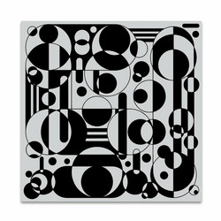 Hero Arts leimasin Circles & Cylinders Bold Prints