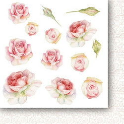 Paper Heaven paperipakkaus Rose Wine Flowers