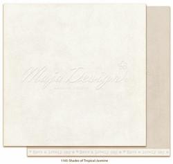 Maja Design Monochromes - Shades of Tropical skräppipaperi Jasmine