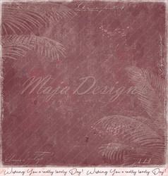 Maja Design Tropical Garden skräppipaperi Palm trees