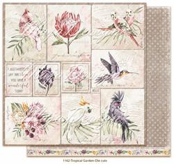 Maja Design Tropical Garden skräppipaperi Die Cuts