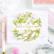 Pinkfresh Studio Reason To Smile Wreath -leimasinsetti