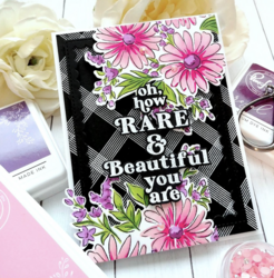 Pinkfresh Studio Floral Bunch -leimasinsetti