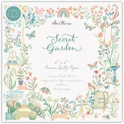 Craft Consortium Secret Garden -paperipakkaus