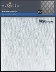 Altenew 3D kohokuviointikansio Waffled Diamonds
