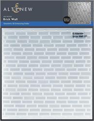 Altenew 3D kohokuviointikansio Brick Wall