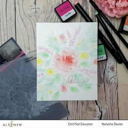 Altenew 3D kohokuviointikansio Whimsical Bouquet