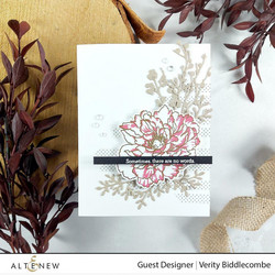 Altenew Build-A-Flower Tree Peony stanssi- ja leimasinsetti