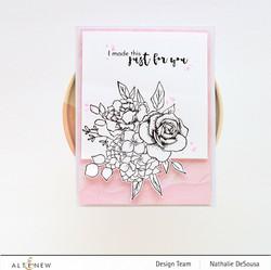 Altenew Inky Bouquet -leimasinsetti