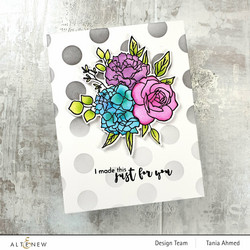 Altenew Inky Bouquet -stanssisetti
