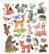 Sticker King tarrat Woodsy Creatures
