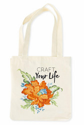 Craft Your Life Tote Bag -kassi