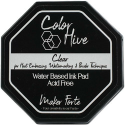 Maker Forte Color Hive -mustetyyny, Clear (kirkas)