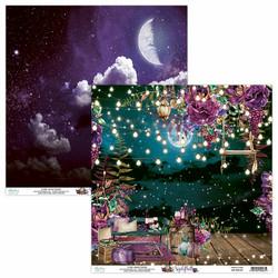 Mintay skräppipaperi Nightfall 01