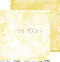 Craft O'clock skräppipaperi Yellow Mood 01