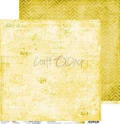 Craft O'clock skräppipaperi Yellow Mood 02