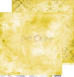 Craft O'clock skräppipaperi Yellow Mood 06