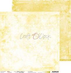 Craft O'clock paperipakkaus Yellow Mood, 12