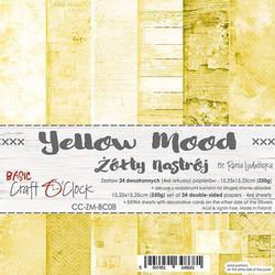 Craft O'clock paperipakkaus Yellow Mood