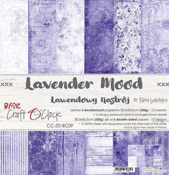 Craft O'clock paperipakkaus Lavender Mood, 12