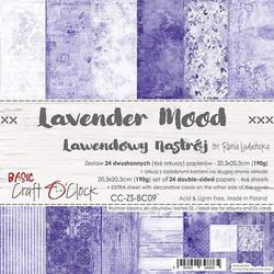Craft O'clock paperipakkaus Lavender Mood, 8