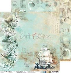 Craft O'clock skräppipaperi Ocean Deep 01
