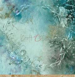 Craft O'clock skräppipaperi Ocean Deep 02