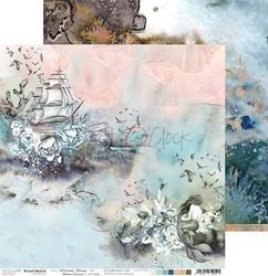 Craft O'clock skräppipaperi Ocean Deep 03