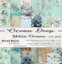 Craft O'clock paperipakkaus Ocean Deep, 12