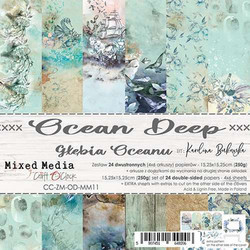 Craft O'clock paperipakkaus Ocean Deep