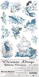 Craft O'clock paperipakkaus Ocean Deep, Extras To Cut