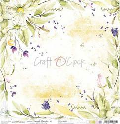 Craft O'clock skräppipaperi Summer Flowers 01
