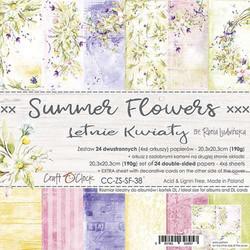 Craft O'clock paperipakkaus Summer Flowers, 8