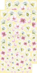 Craft O'clock paperipakkaus Summer Flowers, Extras To Cut