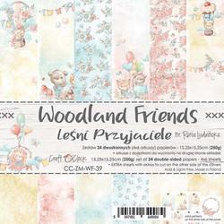 Craft O'clock paperipakkaus Woodland Friends