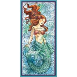 Stampendous Slim Mermaid -leimasin