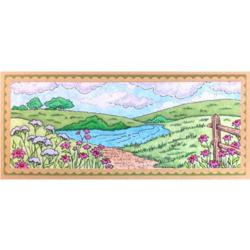 Stampendous Slim Meadow -leimasin