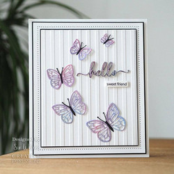 Creative Expressions stanssi Butterfly Delights