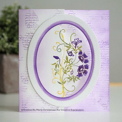 Creative Expressions stanssi Climbing Clematis Edger