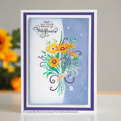 Creative Expressions stanssi Daisy Bouquet Edger