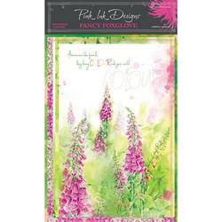 Pink Ink Designs riisipaperit Fancy Foxglove