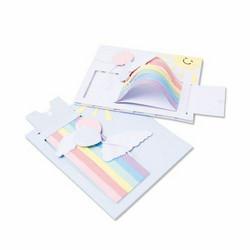 Sizzix Thinlits stanssisetti Rainbow Slider Card