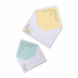 Sizzix Thinlits stanssisetti Foliage Envelope Liners