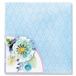 Sizzix Thinlits stanssisetti Folio Page, Pocket & Flowers