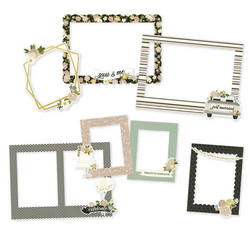Simple Stories Simple Happily Ever After Chipboard Frames -kehykset