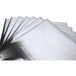 Sizzix Effectz Decorative Foil -folio, sävy Silver, 10 arkkia