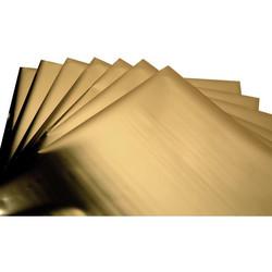 Sizzix Effectz Decorative Foil -folio, sävy Gold, 10 arkkia