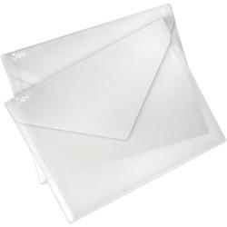 Sizzix Plastic Storage Envelopes, säilytystaskut, 2 kpl